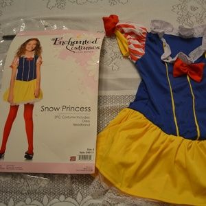 Leg Avenue Girls Disney Snow White Dress Costume M